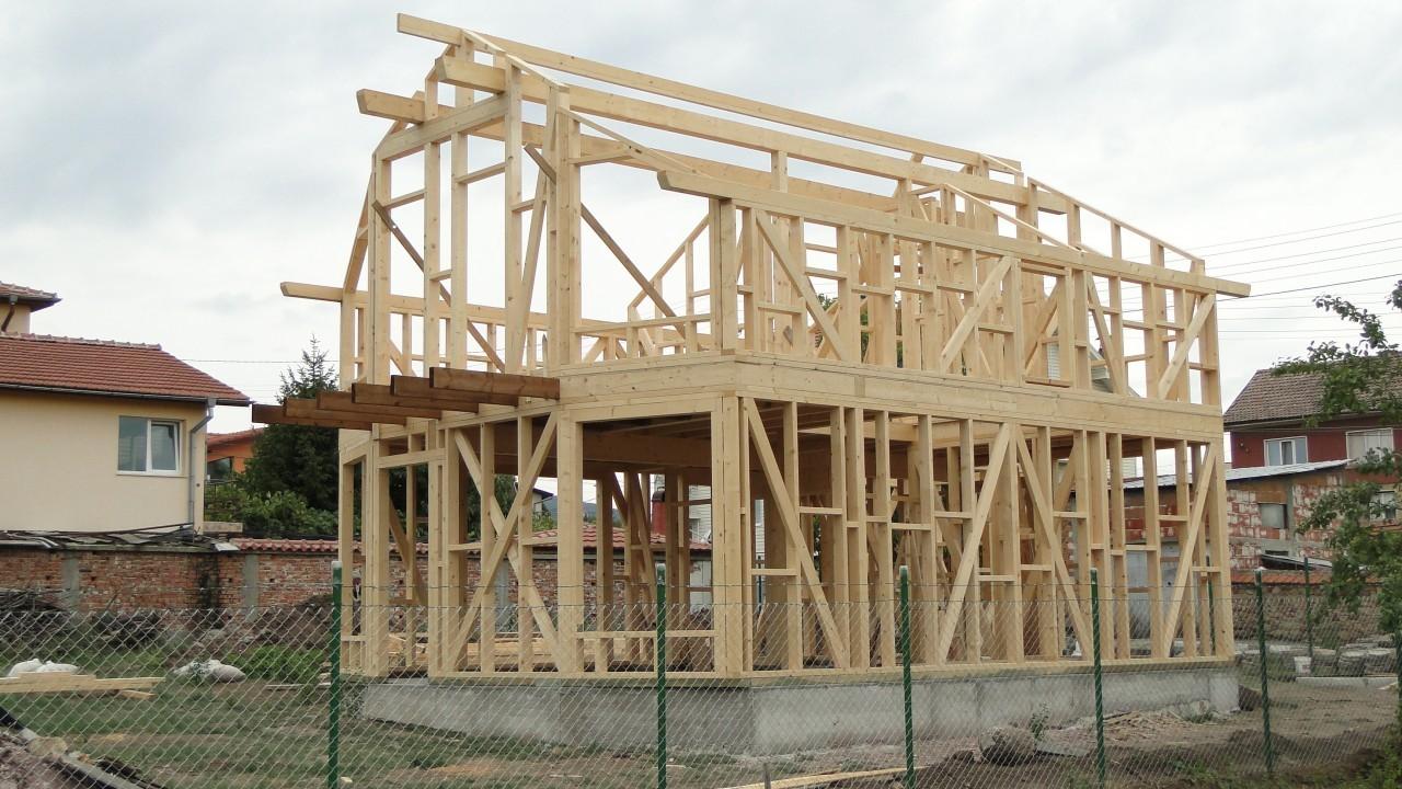 дървена конструкция строеж