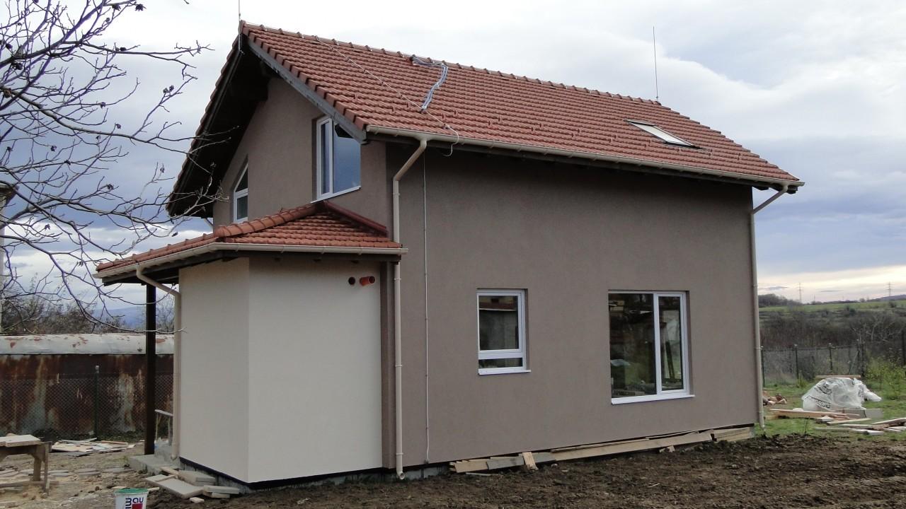 къща изолация панел